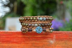 Hey, I found this really awesome Etsy listing at https://www.etsy.com/listing/288038607/wrap-beaded-bracelet-stackable-bracelet