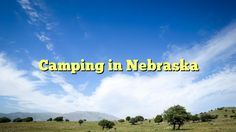 Camping in Nebraska - https://twitter.com/pdoors/status/837566991913275393