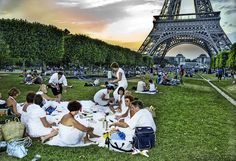 Paris...been. Now that's what I call music in the park.