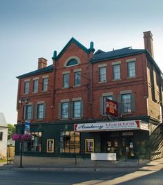 The historic Academy Theatre in Lindsay Ontario