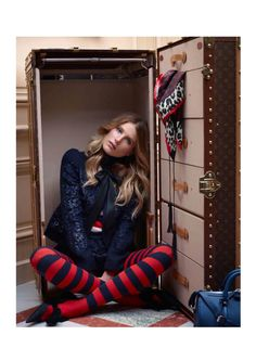 Dree Hemingway Fronts Louis Vuitton Pre-Fall 2013 Catalogue by Koto Bolofo