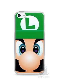 Capa Iphone 5C Luigi Irmão do Super Mario - SmartCases - Acessórios para celulares e tablets :)