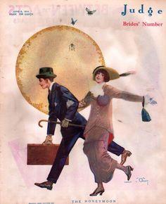 Judge Magazine cover of June 6, 1914….101 years ago.