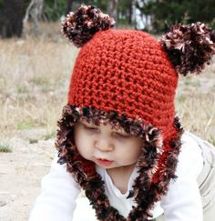 I am so in love with these baby Ewok hats!!