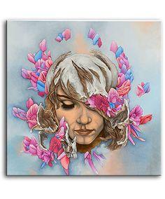 Flowerchild by Brenton Bostwick Oil on panel