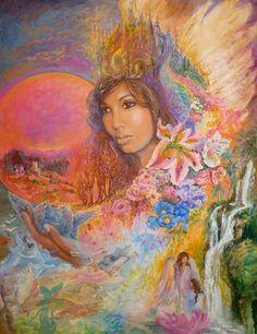 """""""Xavia's Dream 2"""" par Josephine Wall"""