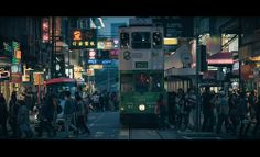 Moody Photography by Chris Soukup. This is Hong Kong, filled with crowds and life.