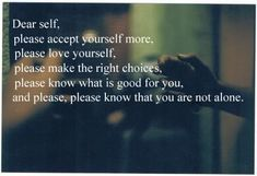 Love yourself.    www.thewatershed    #self-esteem #inspiration