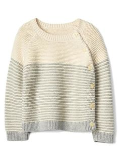Discover a selection of baby clothes at Gap for cute outfits made with quality and style. Shop a variety of baby clothing for your little bundle of joy. St Andrews, Baby Gap, Baby Boy Fashion, Kids Fashion, Minis, Funny Baby Clothes, Babies Clothes, Babies Stuff, Baby Girl Sweaters
