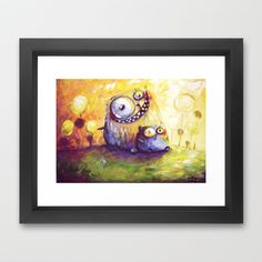 together++Framed+Art+Print+by+main+-+$33.00