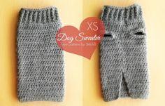 XS Dog Sweater (Free Pattern)