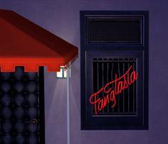 Faux Neon Fangtasia Sign and Companion Window/Door Recolours - LeeFish