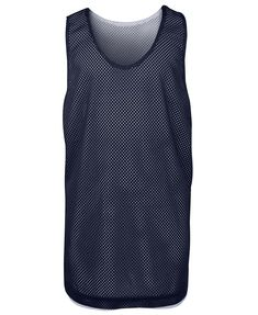 PODIUM KIDS BASKETBALL SINGLET NAVY/WHITE 6 - 2XL - JB's WEAR Basketball Singlets, Hard Wear, How To Wear, How To Make, Sport Wear, Mesh Fabric, Navy And White, Exercises, Tank Tops