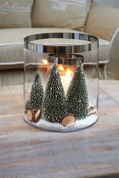 Pleasantly Fragrant DIY Christmas Candle Craft Ideas ~ Home Decoration Inspiration Christmas Makes, Simple Christmas, Christmas Home, Christmas Ideas, Outdoor Christmas, Christmas Crafts, Christmas Candle Lights, Christmas Candle Decorations, Snow Decorations