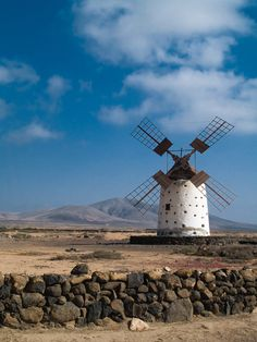 Moulin d'Antigua à Fuerteventura