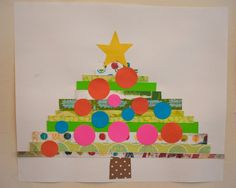 construction paper tree