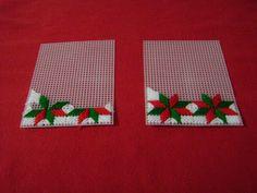 Manualidades y artesanias Salticoz: Malla plástica navideña
