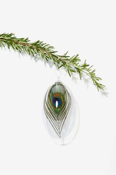 Little Wing Feather Ornament Set. Super unique.