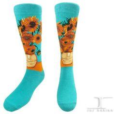 Masterpiece - 12 Sunflowers   JHJ Design - The Art of Wearing Socks
