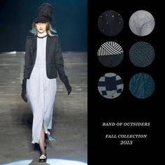 Color Palette: Band of Outsiders Fall 2013
