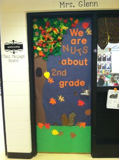 Classroom Door Decorations For Fall fall classroom door | pre school art ideas | pinterest | classroom