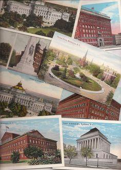 Old Washington DC Postcards