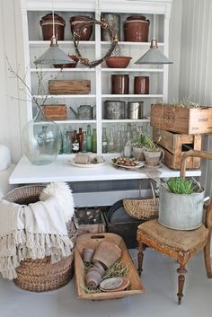 VIBEKE DESIGN: My own junk room!