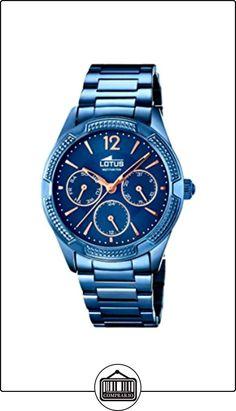 5167c2241de9 Lotus - Reloj de pulsera analógico para mujer cuarzo acero inoxidable 18248  2 de ✿
