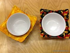 These bowl cozies are fast and easy to put together! With the Warm Tater batting, these cozies act as an insulator and a built in hot pa...