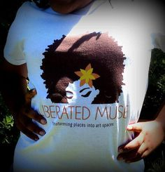 Liberated Muse White Tee by LiberatedMuse on Etsy