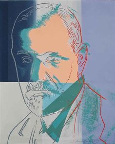 Andy Warhol, Sigmund Freud, from Ten Portraits of Jews of the Twentieth Century, 1980