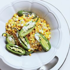 After seeing Bobby Flay slather corn on the cob with lime butter before grilling on a cooking show, Hopkins came up with this skillet variation using ...