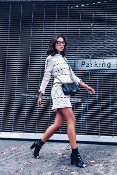VivaLuxury - Fashion Blog by Annabelle Fleur: CROCHET CRUSH - MAGDA BUTRYM top & skirt | PAUL ANDREW Boots | CHANEL Boy bag | PERVERSE Duke sunglasses October 24, 2016