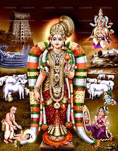 Goddess Bhumi (also known as Goddess Andal or Goda Devi ) who is another wife of Lord Vishnu