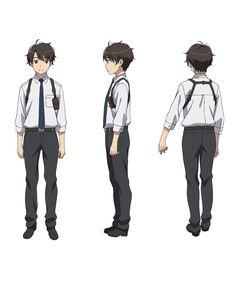 Inaho Kaizuka from Aldnoah Zero Character details Character Model Sheet, Character Modeling, Character Concept, Character Art, Anime Boy Zeichnung, Aldnoah Zero, Person Drawing, Handsome Anime Guys, Cartoon Crossovers