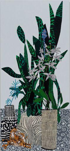Jonas Wood and Shio Kusaka - January 16 - February 28, 2015 - Images - Gagosian Gallery