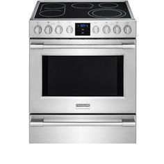 Frigidaire Professional Smooth Surface Freestanding 5 Element 1 Cu Ft Self Cleaning Convection Electric Range Smudge Proof Stainless Steel Common