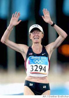 Deena Kastor bronze medal olympics 2004... most inspirational running moment of my life