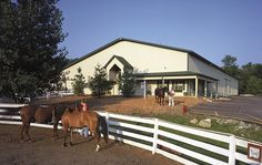 Horse barn with custom entrance Downers Grove Illinois, Horse Barns, Horses, Intelligent Design, Entrance, Buildings, Tack Rooms, Floor Plans, Bays