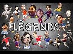 #Top20 Legends of Football - YouTube