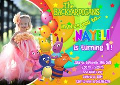 Backyardigans Birthday Party Invitation  by FunPartyInvitation, $8.99