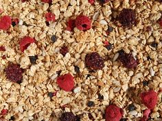 Very Berry with #NonGMO freeze dried raspberries, blackberries and #organic wild blueberries. #mixmyown