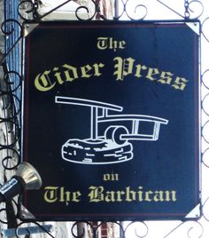 The cider press on the Barbican in Plymouth