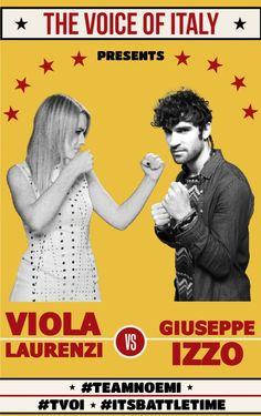 #Battle 2 - The Voice of Italy 2015 - #tvoi #ViolaLaurenzi vs #GiuseppeIzzo #TeamNoemi