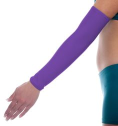 Purple Arm Sleeve 200+ color Choices. Handmade in the USA! $12.99
