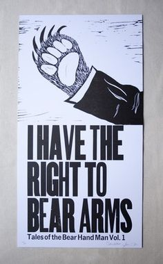 this is totally what i picture when i hear right to bear arms!