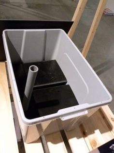 An example of a self-watering planter. I've used these and they work well. R
