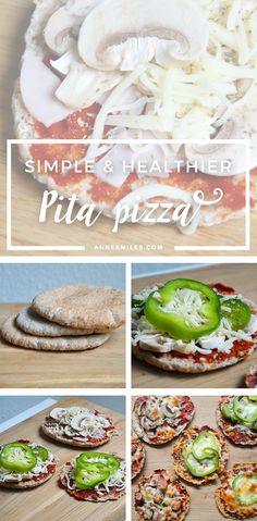 Pita pizza Recipe || As a lazy busy student living alone, I love simple recipes. As a person with taste buds, I love pizza. This recipe combines both! Click through to read more, or repin to save for later!