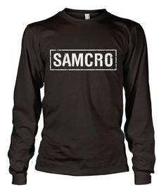 SOA SAMCRO Distressed Long Sleeve Koszulka