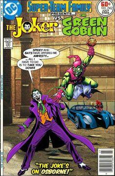 Super-Team Family: The Lost Issues! Vintage Comic Books, Marvel Comic Books, Vintage Comics, Comic Books Art, Comic Art, Looney Tunes, Gi Joe, Dc Comics Vs Marvel, Marvel And Dc Crossover